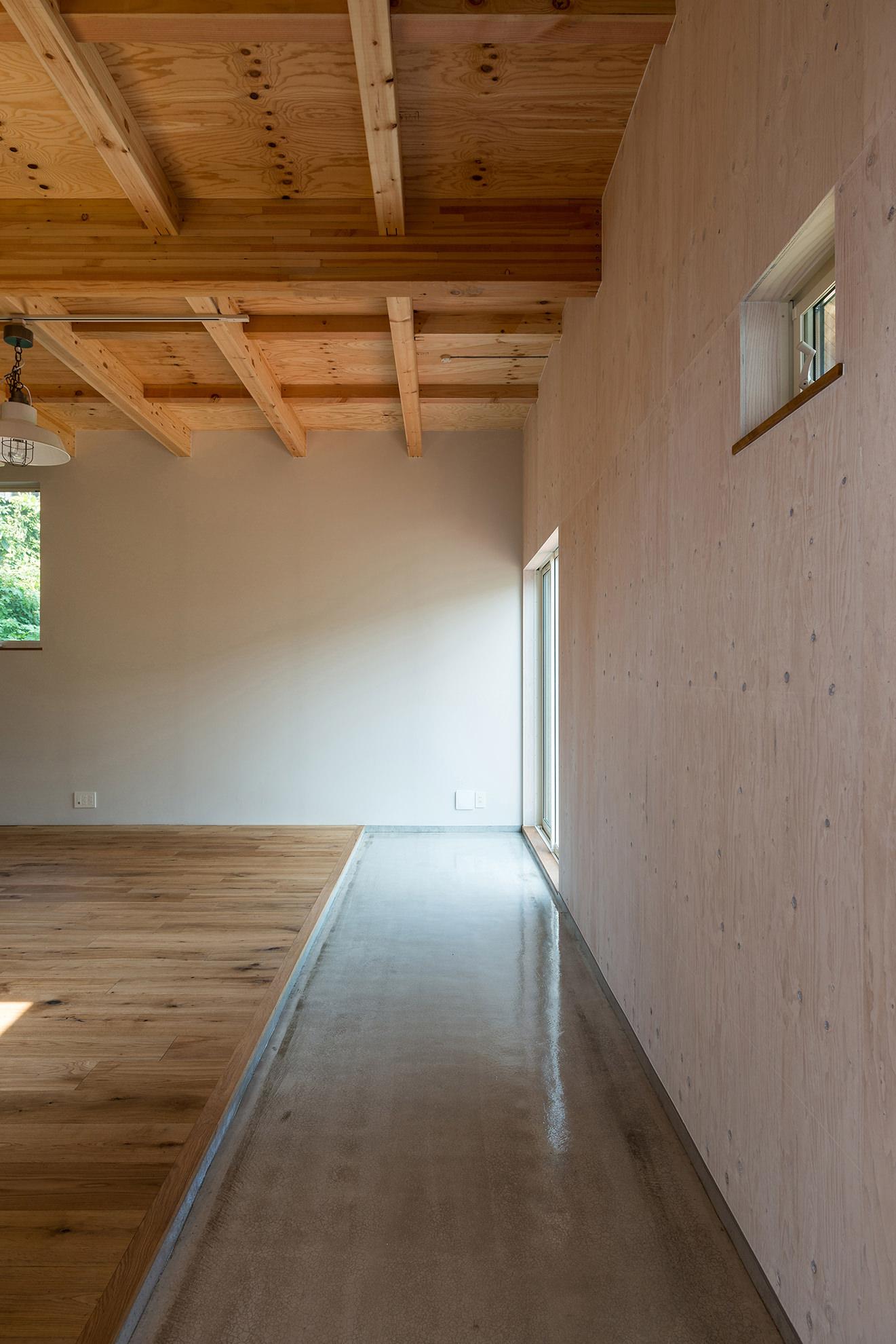 セルフビルドを楽しむ家 イメージ01 撮影:東涌宏和