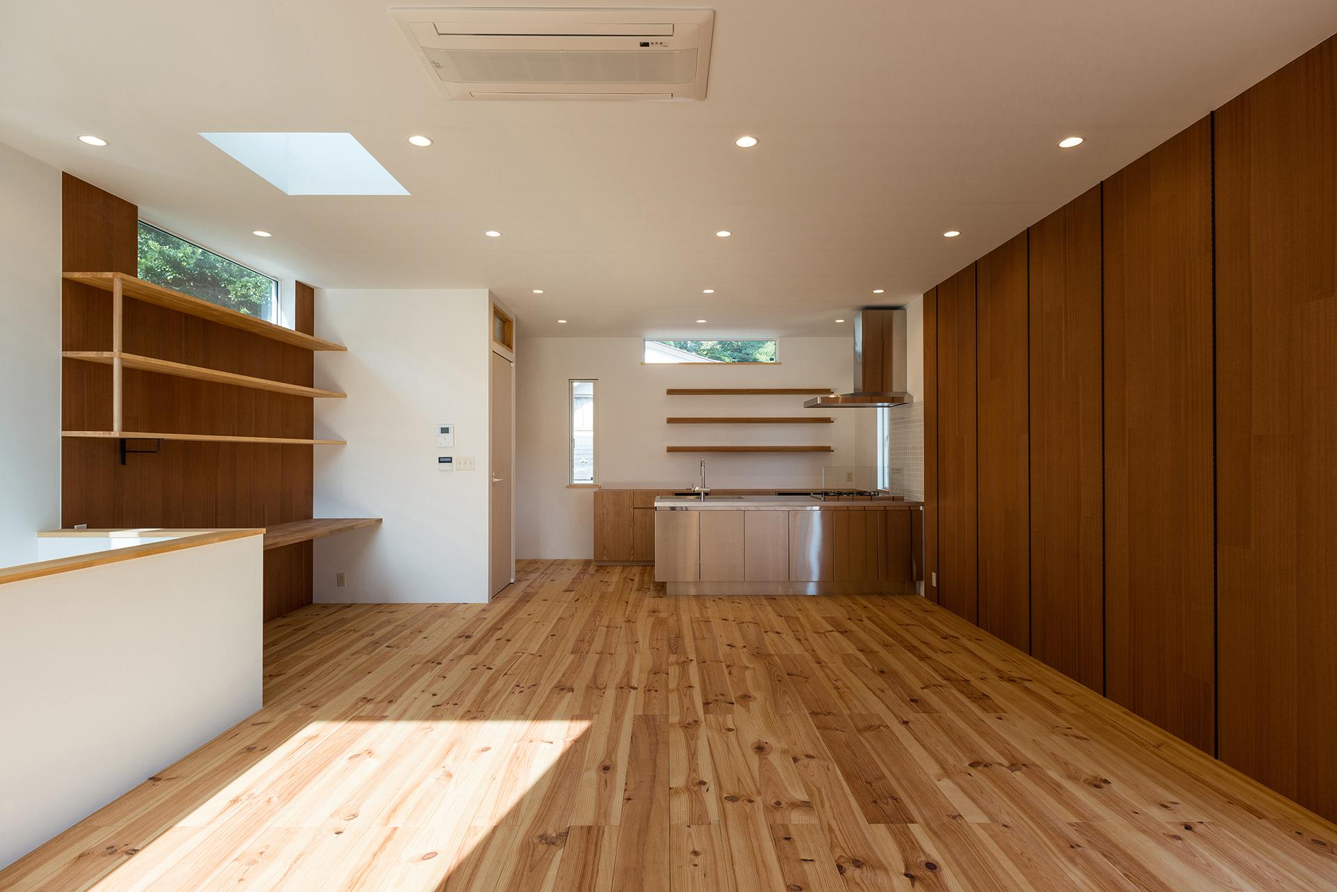 木と旅を愛する人の家 イメージ05 撮影:東涌宏和