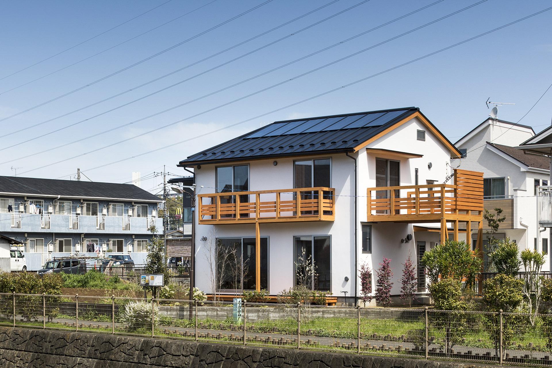 鶴川の家 Ⅳ イメージ1 撮影:東涌写真事務所・東涌宏和