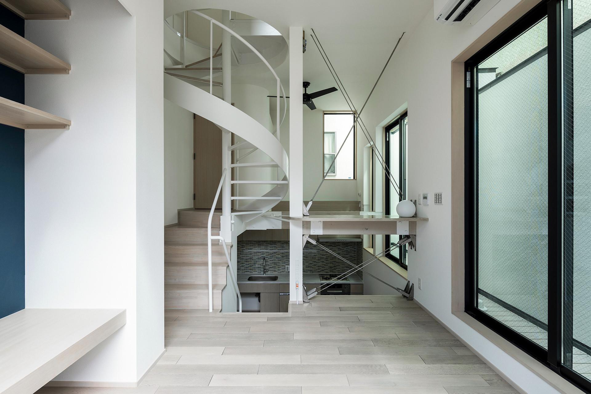 「6坪の家」 イメージ6 撮影:東涌写真事務所・東涌宏和