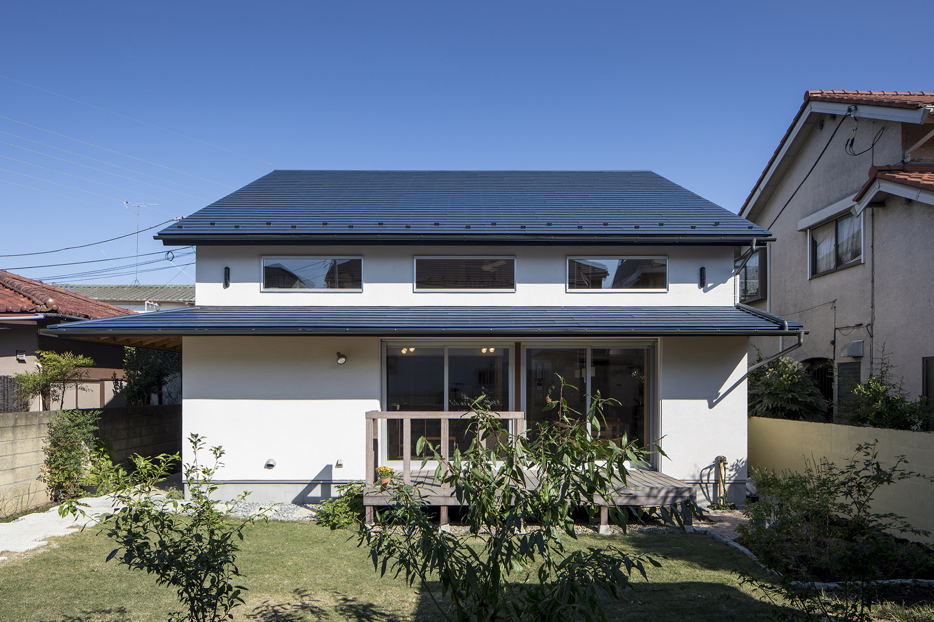 家族を結びつける大屋根の家 イメージ1 撮影:東涌写真事務所・東涌宏和