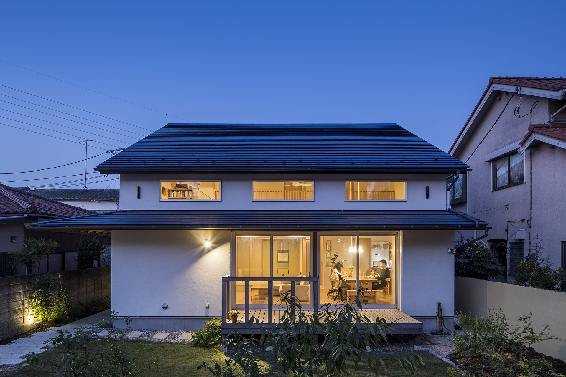 家族を結びつける大屋根の家 イメージ14 撮影:東涌写真事務所・東涌宏和