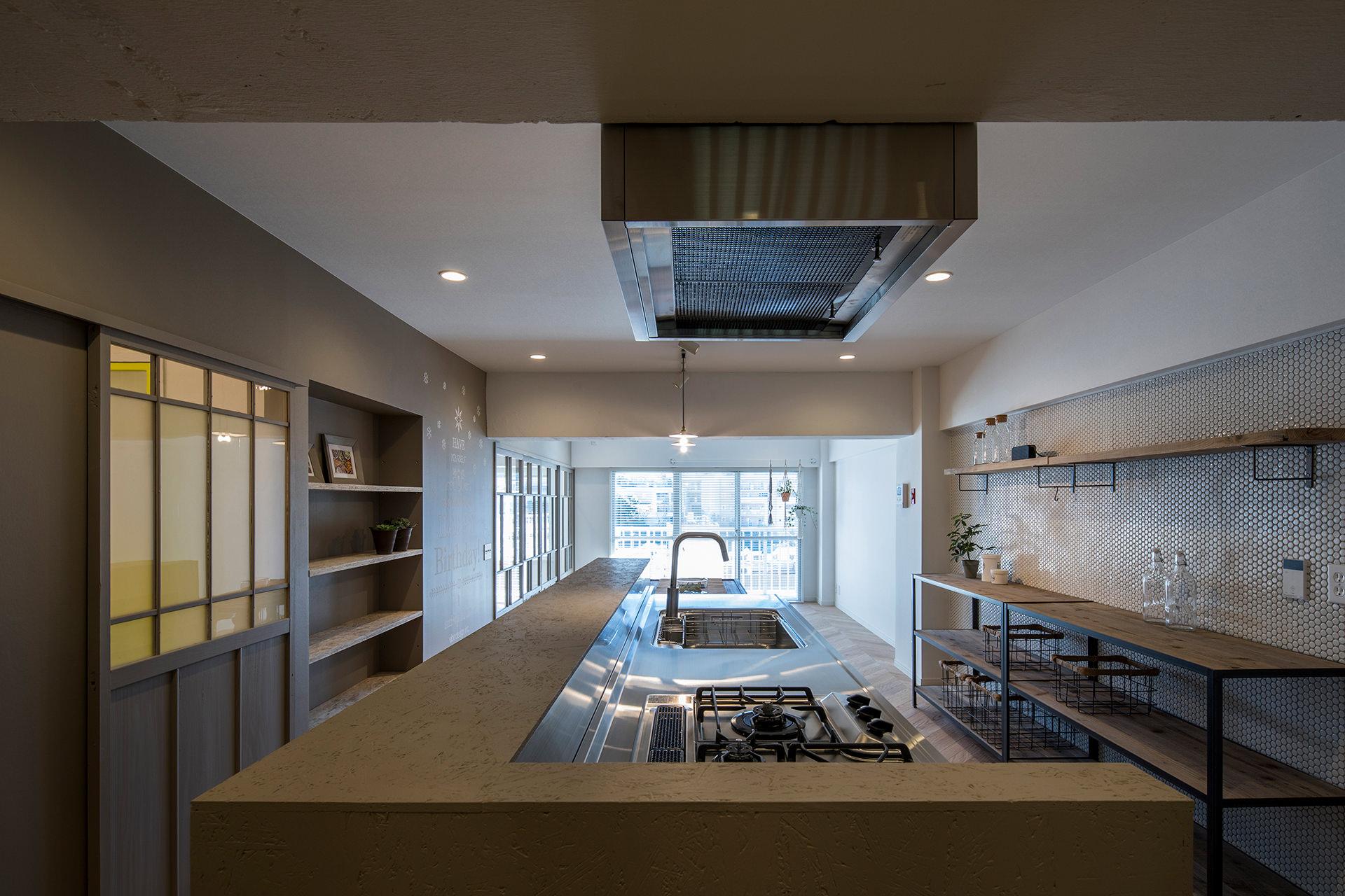 stri-ep house* flat 葉山エコーハイツ  イメージ4 撮影:東涌写真事務所・東涌宏和