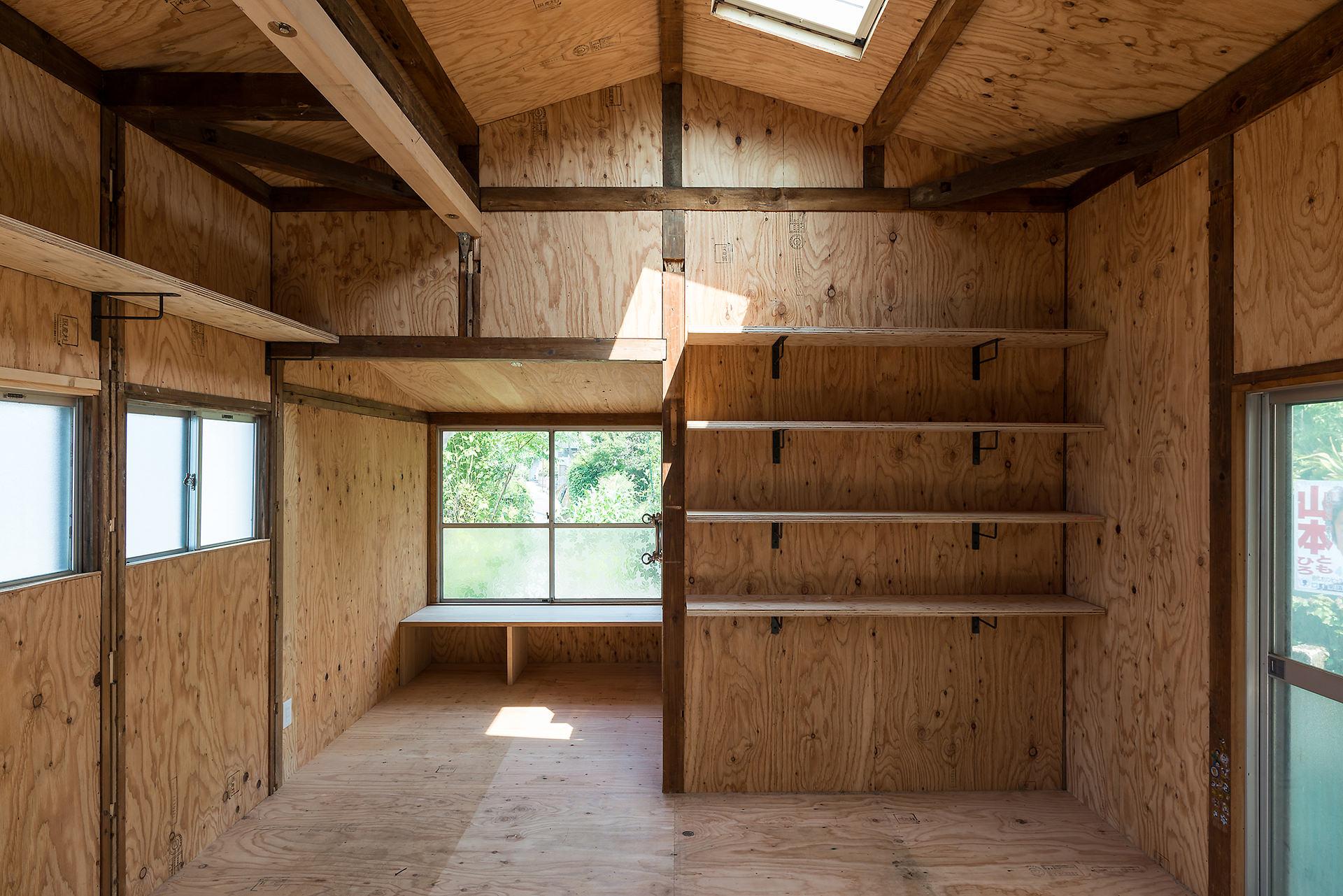 小屋と吹き抜けのある家 イメージ09 撮影:東涌宏和