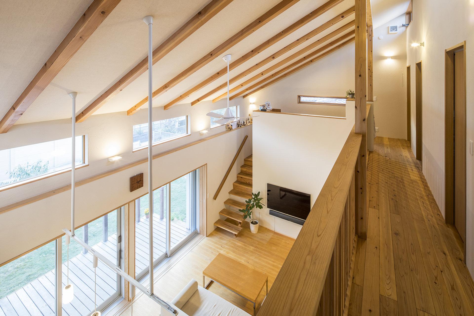 家族を結びつける大屋根の家 イメージ12 撮影:東涌写真事務所・東涌宏和