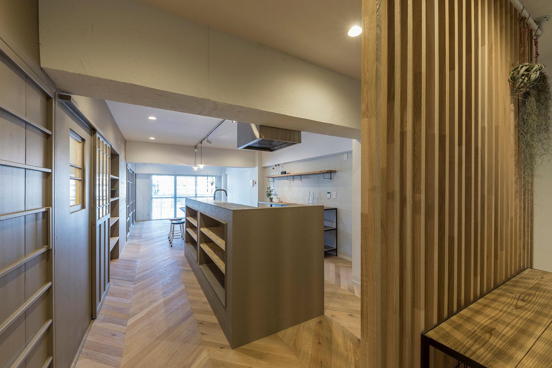 stri-ep house* flat 葉山エコーハイツ  イメージ3 撮影:東涌写真事務所・東涌宏和