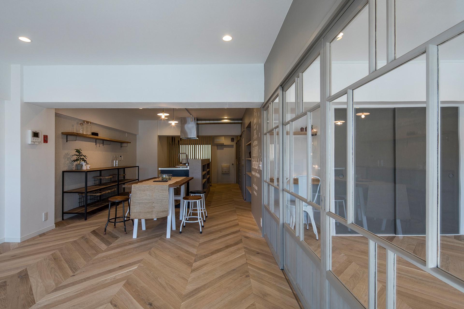 stri-ep house* flat 葉山エコーハイツ  イメージ6 撮影:東涌写真事務所・東涌宏和